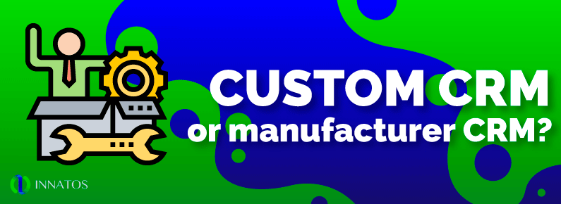 Innatos - Customer CRM or Manufacturer CRM - Cover