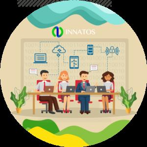 Innatos - ¿Qué es el Software Empresarial? - junta de personas en una sala de conferencias