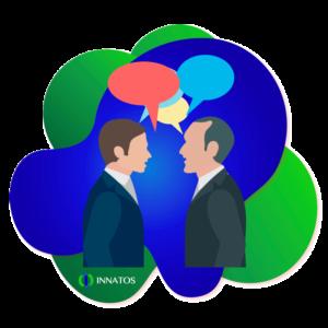Innatos - What is Internal Communication?- people talking
