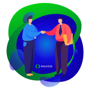 Innatos - ¿Por qué ocupas la Plataforma de Comunicaciones Internas? - personas sonteniendose la mano