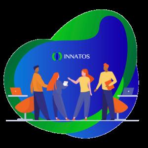 Innatos - Internal communication - people discussing