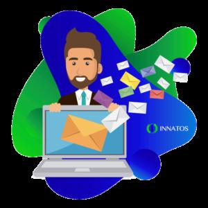 Innatos - persona con un correo electronico