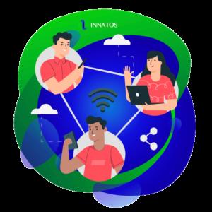 Innatos - personas en una red conectados