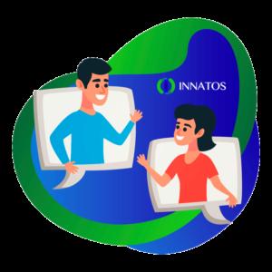 Innatos - Internal communication - people talking