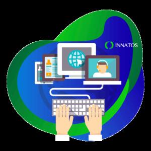 Innatos - computer working