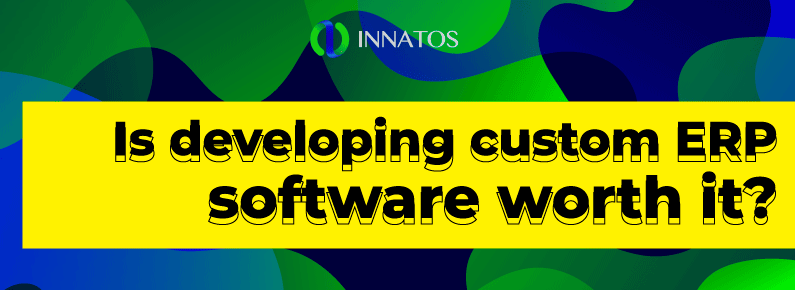 Innatos - Is developing custom ERP software worth it? - title