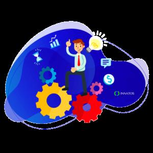 Innatos - Is developing custom ERP software worth it? - happy professional men