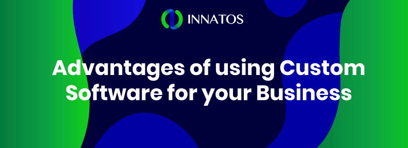 Innatos - Advantages of using Custom Software - title