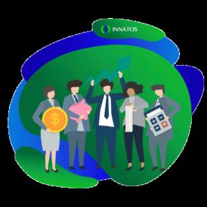 Innatos - Ventajas de usar Software Personalizado - personas profesionales trabajando