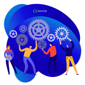 Innatos - CRM and Ecommerce - people working together