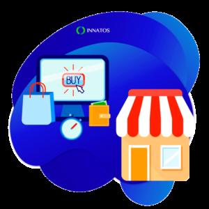 Innatos - CRM y Ecommerce - kiosko con bolsas de ventas