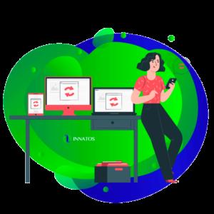 Innatos - Razones para crear un sistema CRM Personalizado - mujer profesional