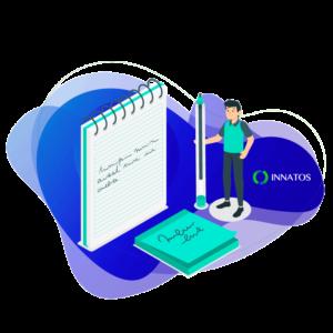 Innatos - ¿Qué es un sistema ERP con funcionalidad en la nube? - persona trabajando