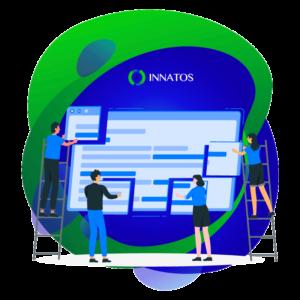 Innatos - Benefits of cloud-based CRM - people working