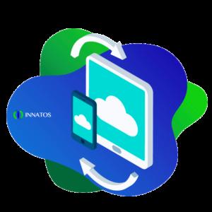 Innatos - ¿Qué es la tecnología de CRM en la nube? - celular
