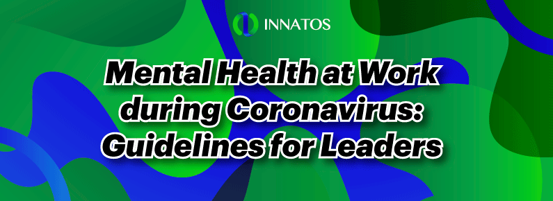 Innatos - Mental Health at Work during Coronavirus - title
