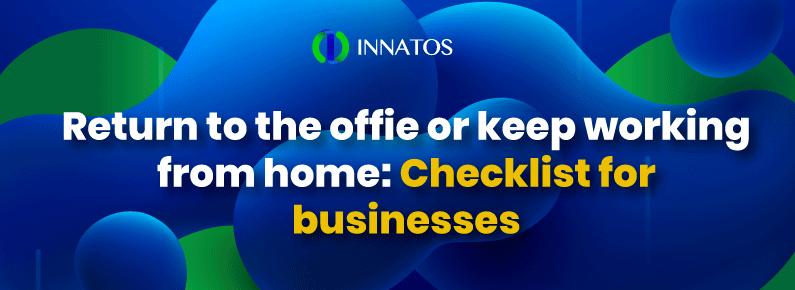 Innatos - checklist for businesses - title