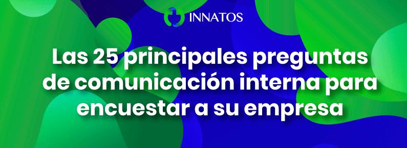 Innatos - Comunicación interna para encuestar a su empresa - title