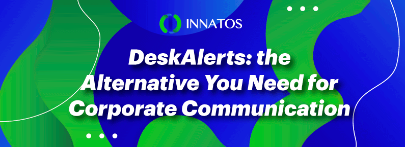 Innatos - Alternative You Need for Corporate Communication - title