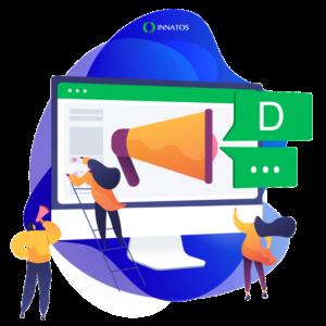 Innatos - sistema de comunicación empresarial - comutadora- Cómo utilizar el CRM para mejorar la experiencia del cliente