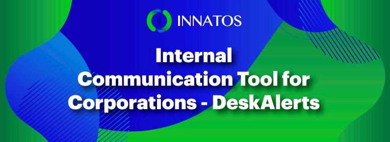 Innatos - Internal Communication Tool for Corporations - banner