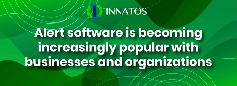 Innatos -Alert software