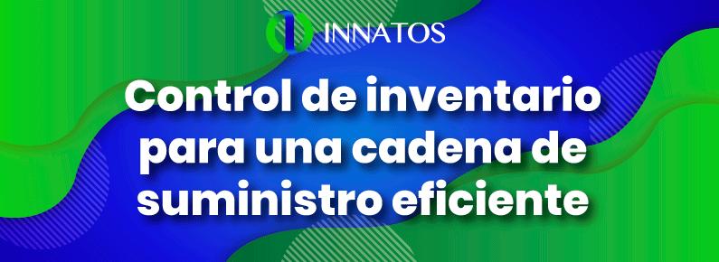 innatos - Control de inventario